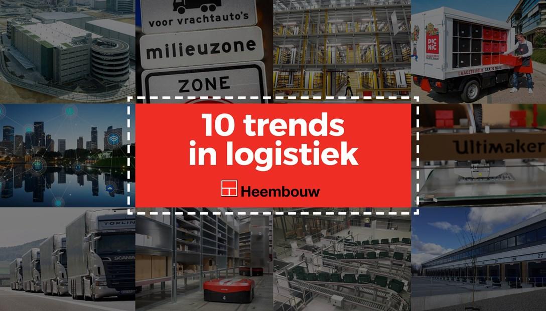 10 trends in de logistiek die grote impact (gaan) hebben op de branche