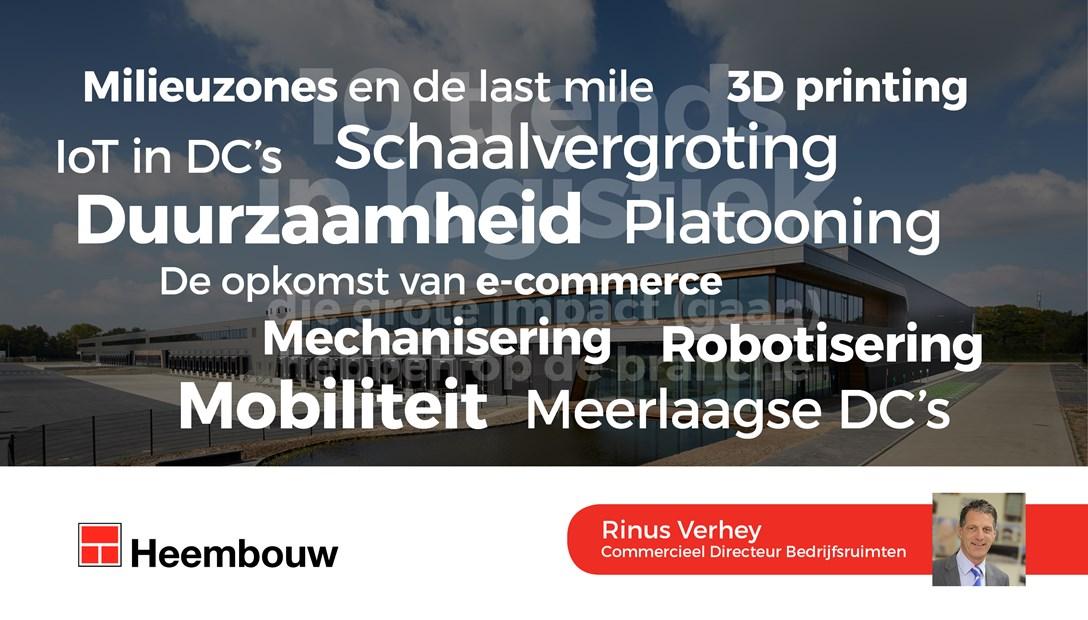 10 trends in de logistiek - Rinus Verhey - Heembouw