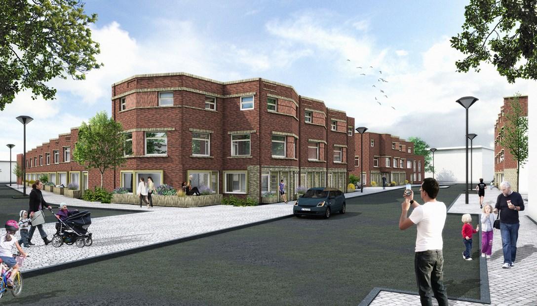 Nieuwbouw 153 woningen Den Haag Slimme Hendrik