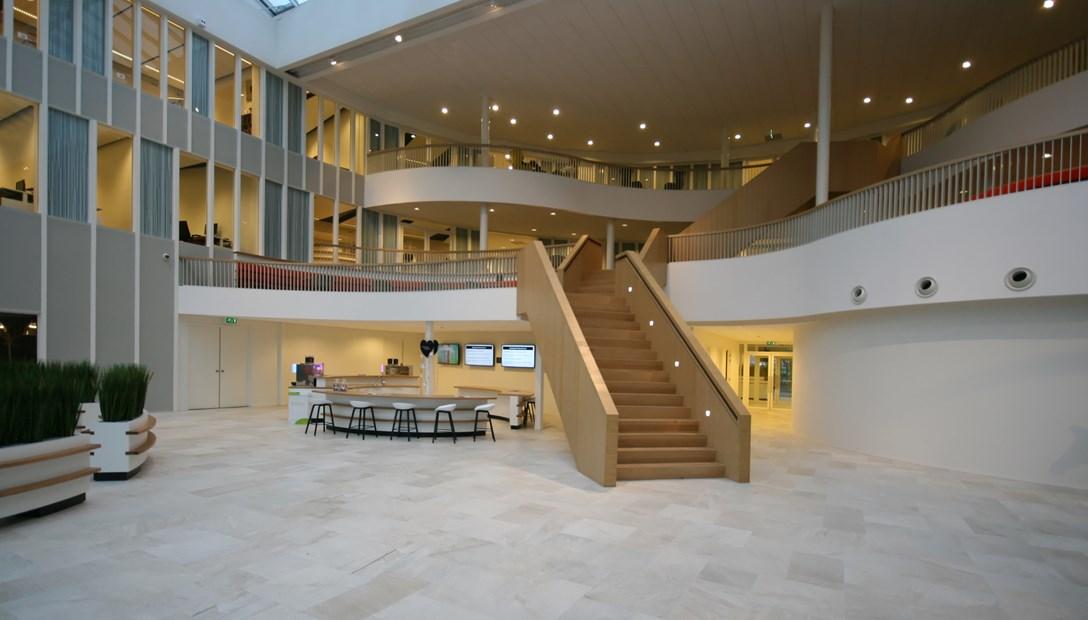 BOVAG Bunnik renovatie kantoor atrium