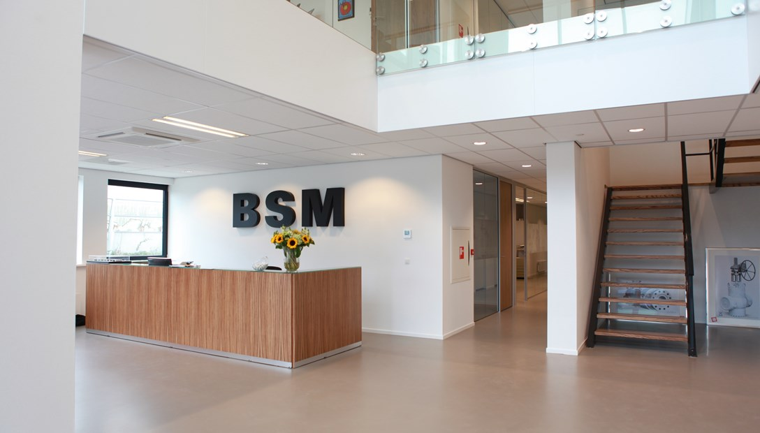 BSM Valves Breda case bedrijfshuisvesting
