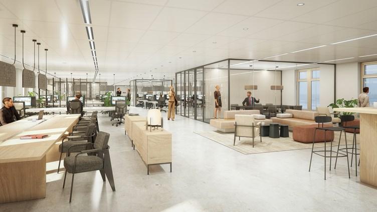 Centre Court Den Haag Heembouw duurzame en circulaire renovatie kantoor