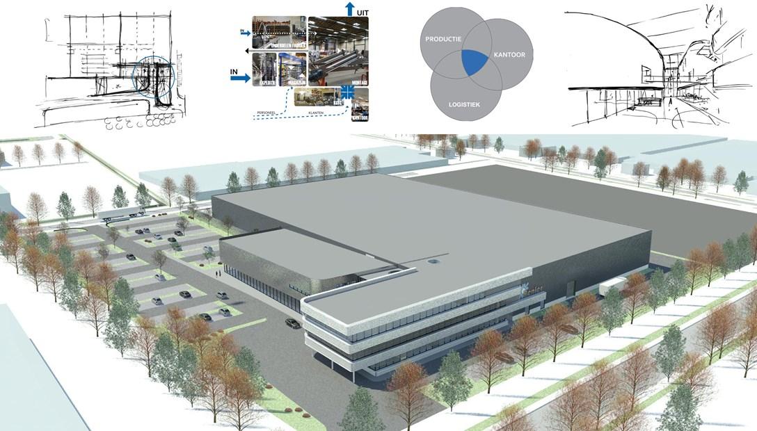 De maakindustrie op volle toeren ontwerp Benier Habeon Architecten