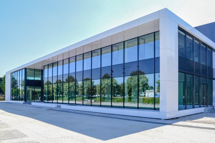 Safescan Zoetermeer nieuwbouw kantoor Habeon Architecten oplevering