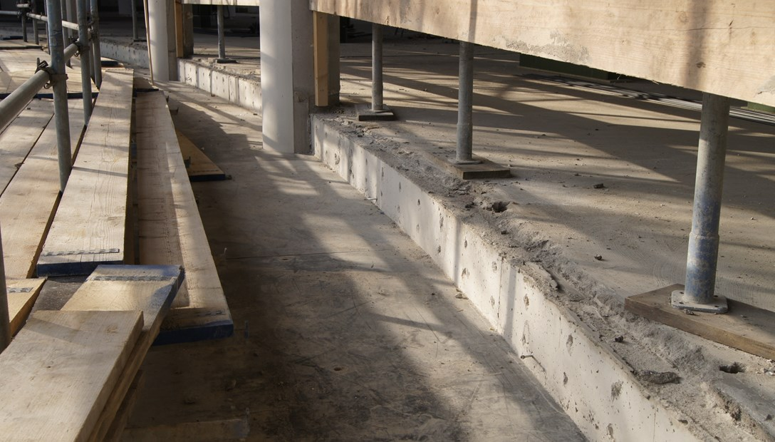 Dunea Zoetermeer kantoor Bekisting verdiepingsvloer