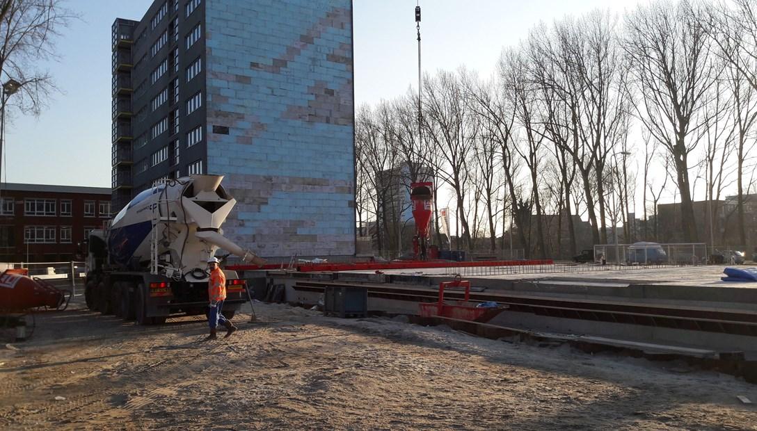 Duurzaamheidsuitdaging de president Heembouw RED betonbouw
