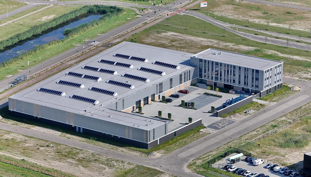 Efficiënt bedrijfspand nieuwbouw productiebedrijf Heembouw Jeveka