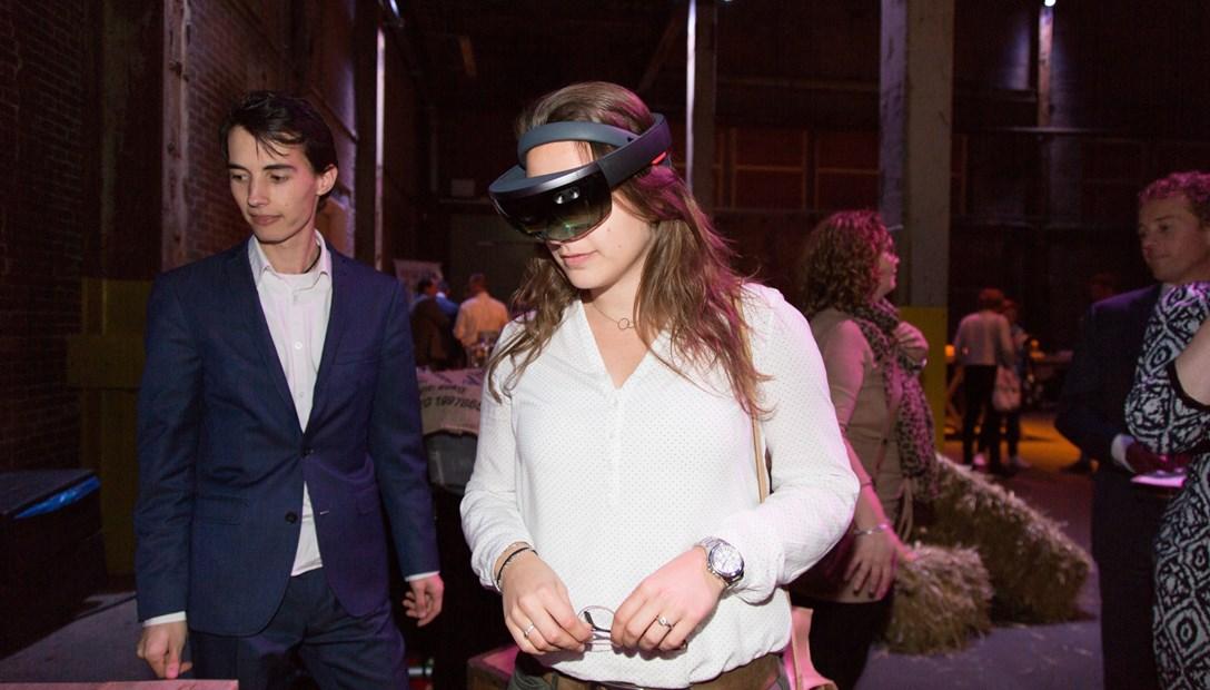Heembouw Innovatiemarkt HoloLens