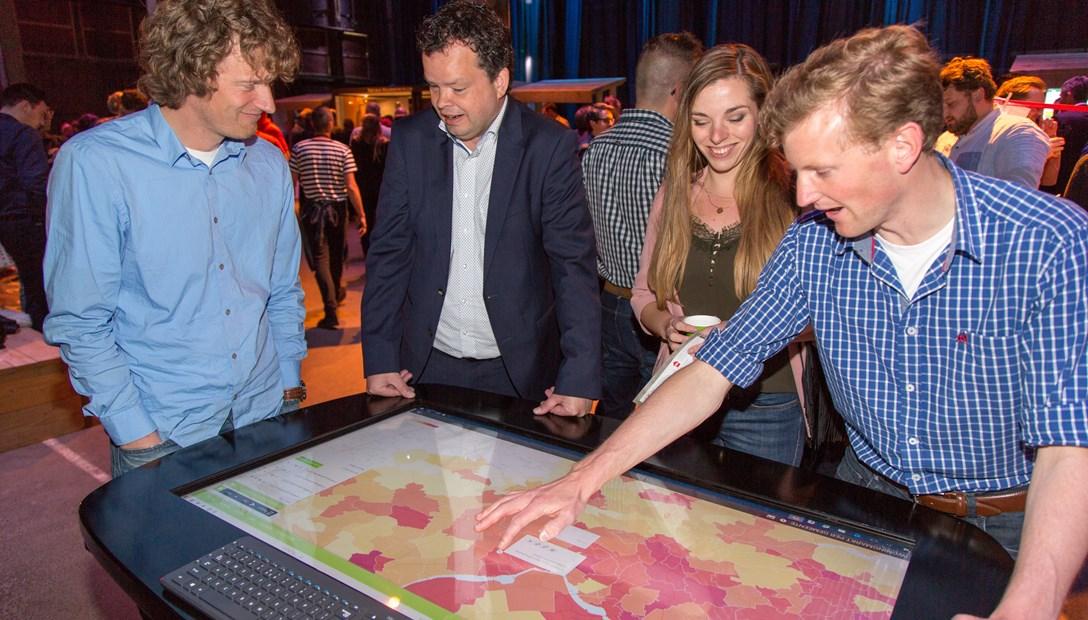 Heembouw Innovatiemarkt MapTable