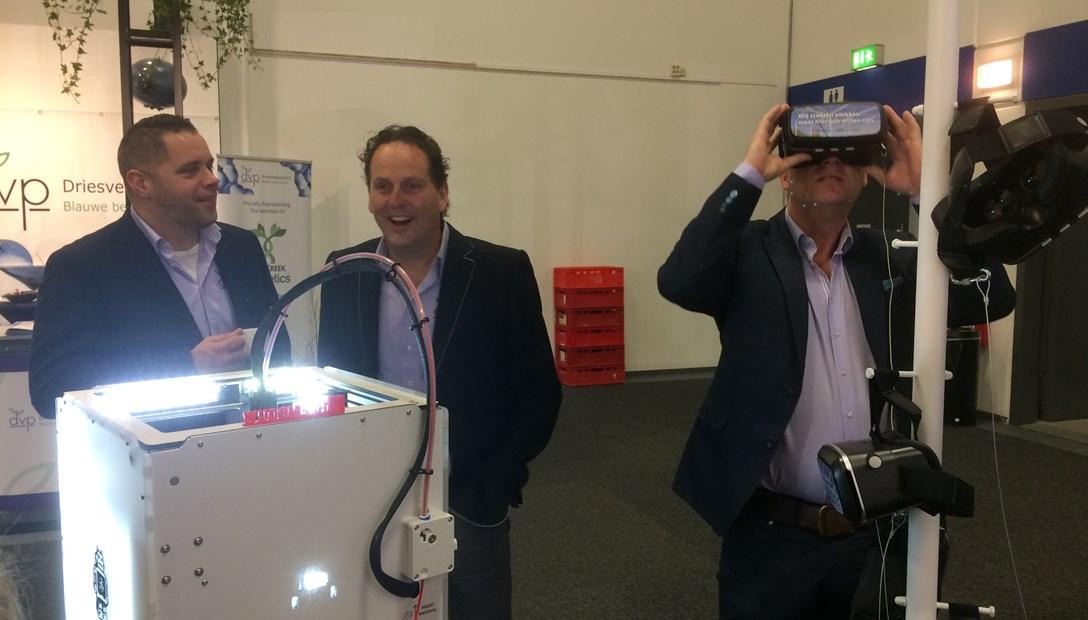 Fruit Logistica 2017 stand Heembouw 3D printer VR bril