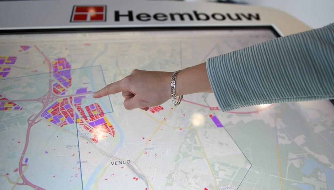 Location Intelligence kantoren maptable detail GIS