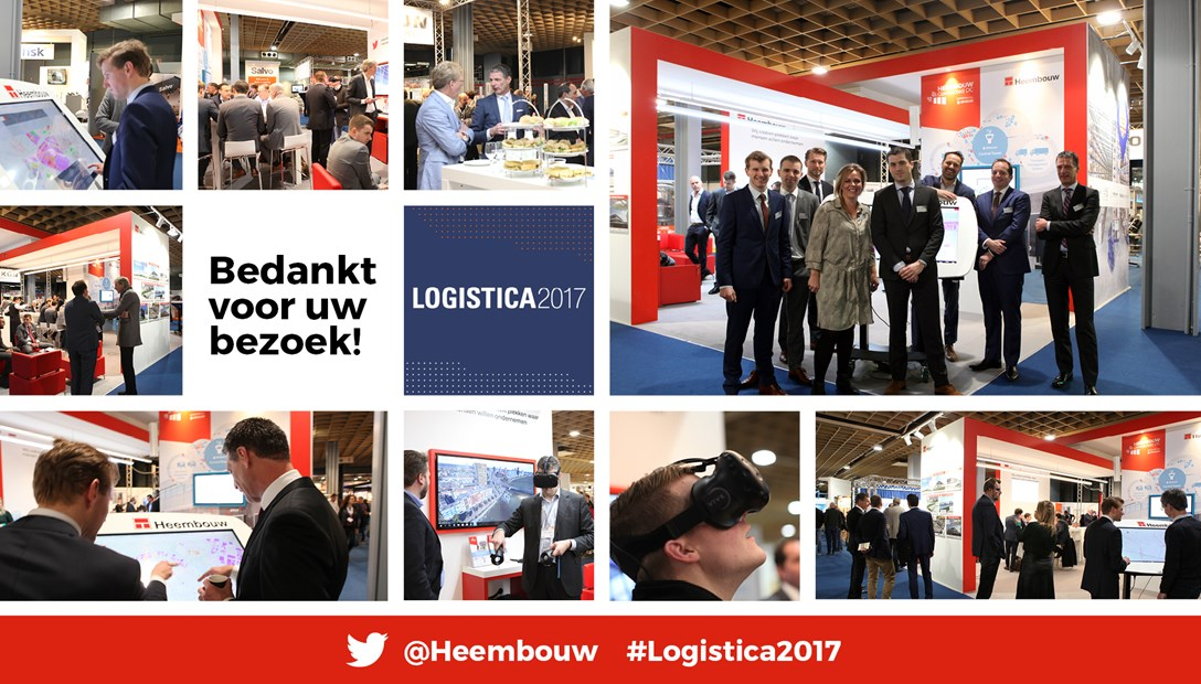 Logistica 2017 beursdeelname Heembouw