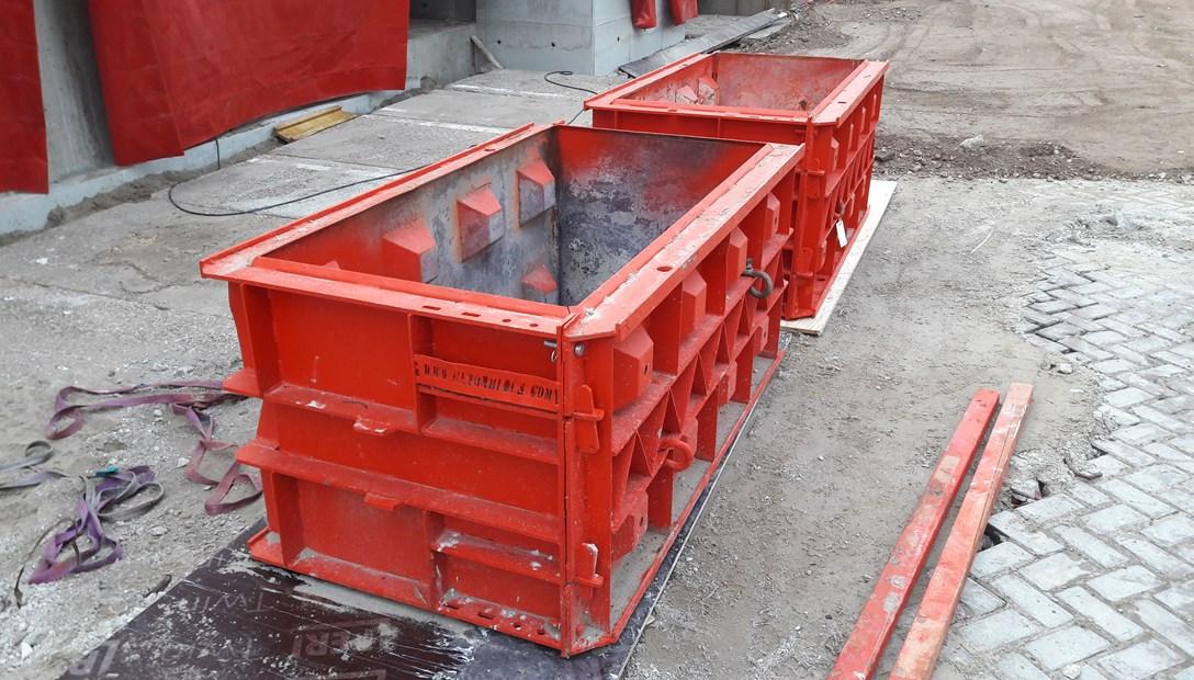Mal voor betonblokken Heembouw RED betonbouw