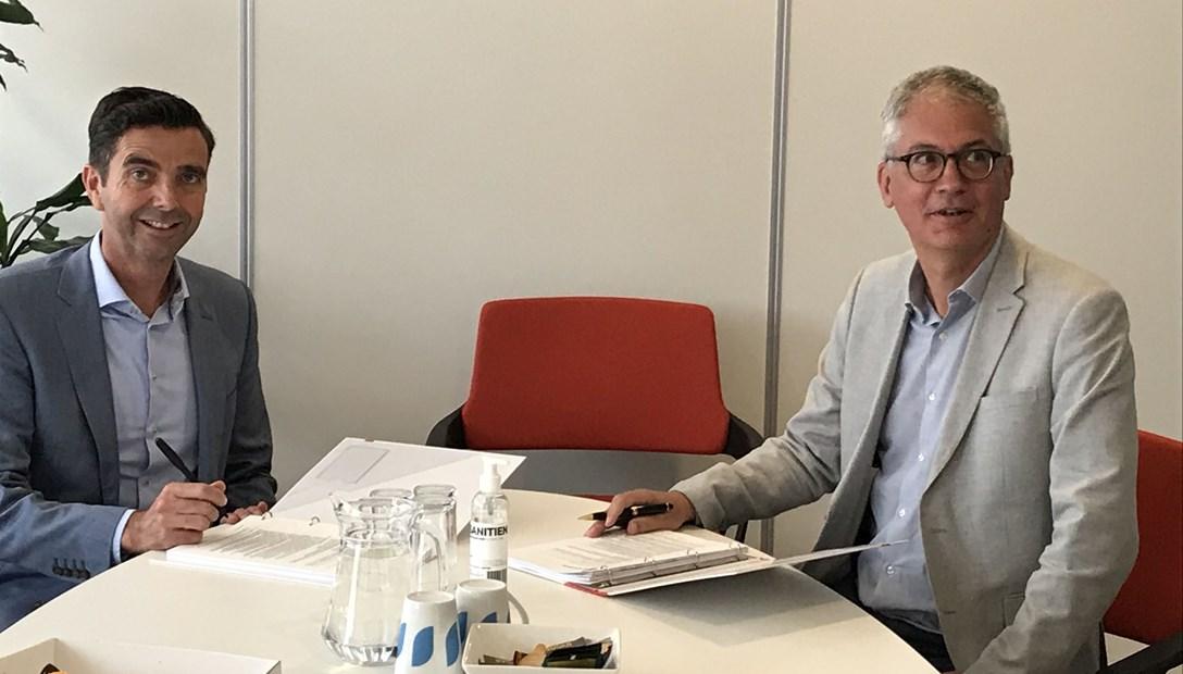 Overeenkomst MeerWonen en Heembouw 60 duurzame woningen Westend Roelofarendsveen