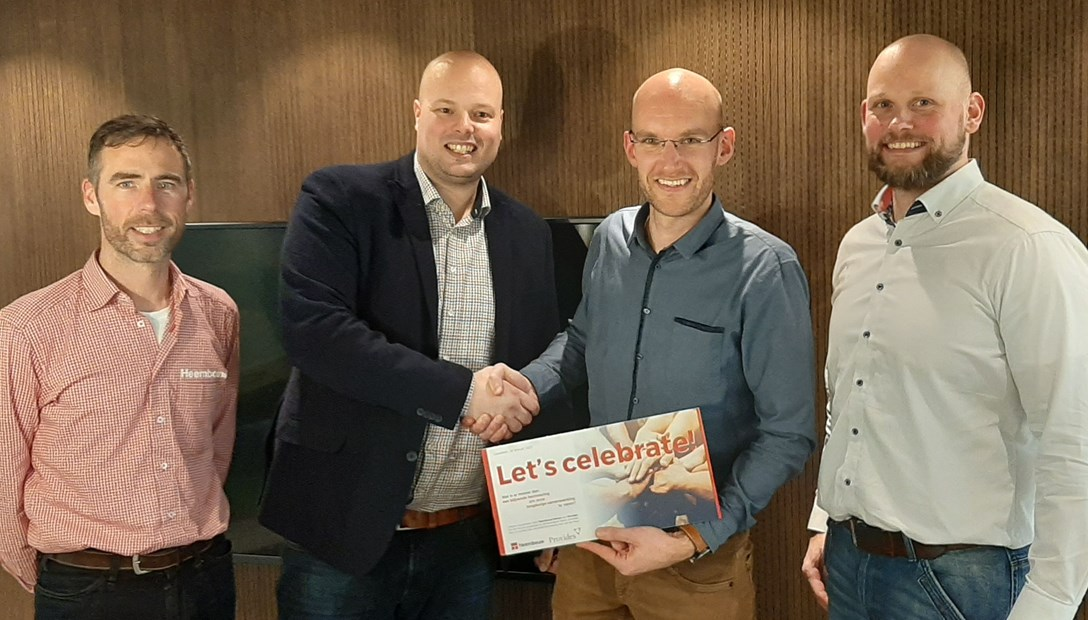 Ondertekening samenwerking Provides IJsselstein