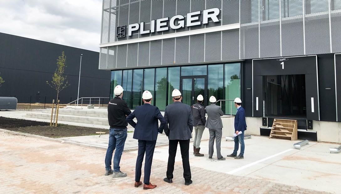 Oplevering Plieger