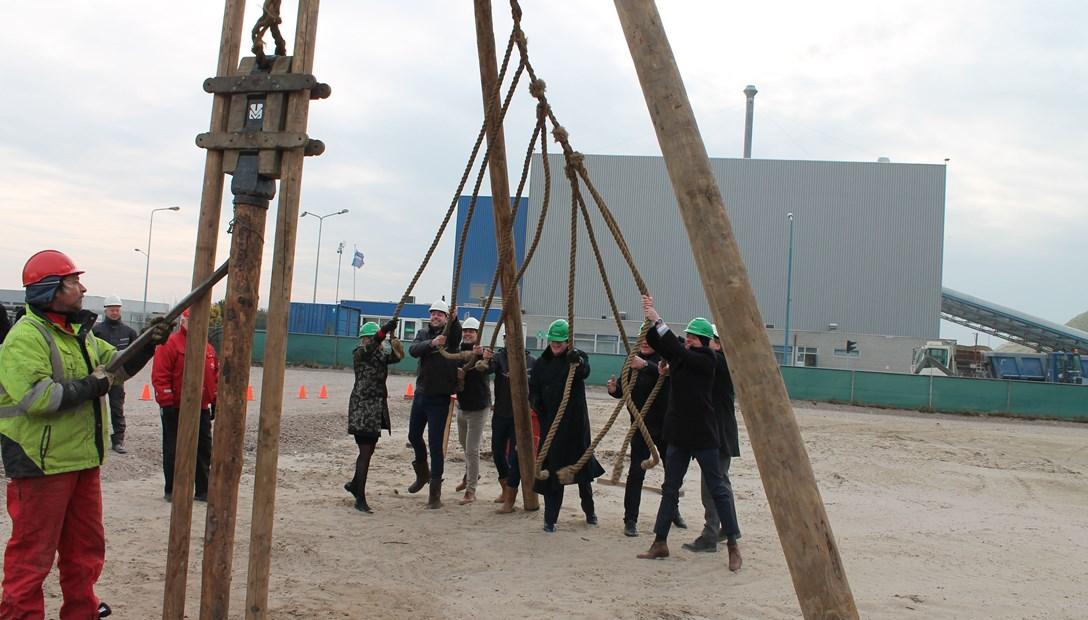 Allseas start bouw