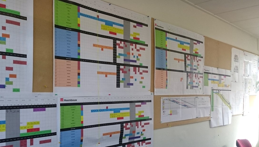 Planning woningrenovatie Lean Bouwen