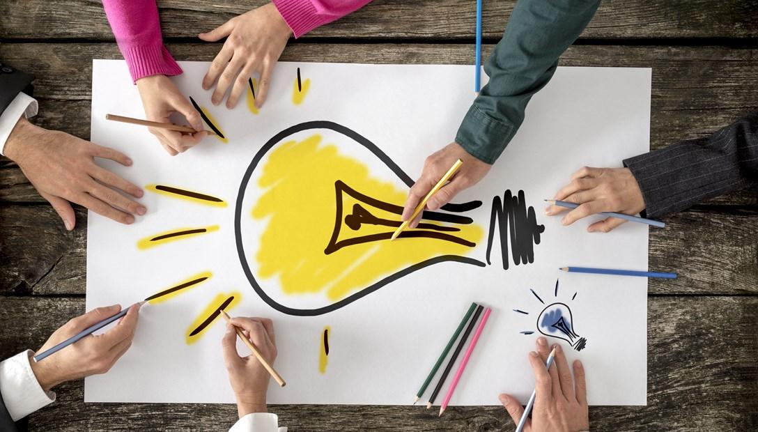 Productinnovatie kantoren creatieve oplossingen