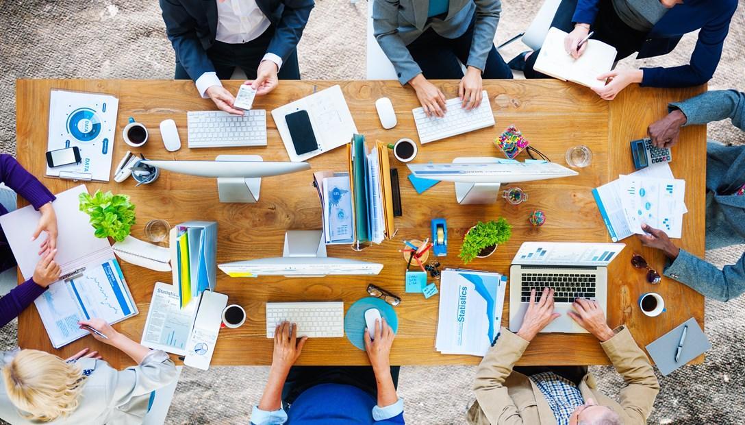Productinnovatie kantoren samenwerken