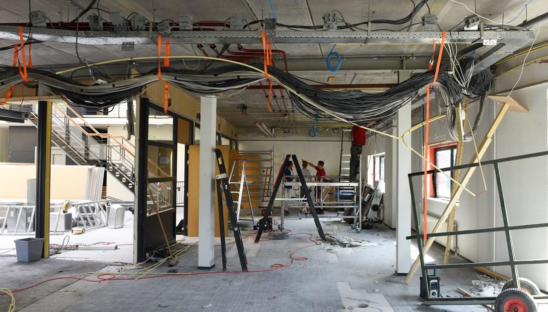 Renovatie kantoor Heembouw Werkzaamheden verbouwing