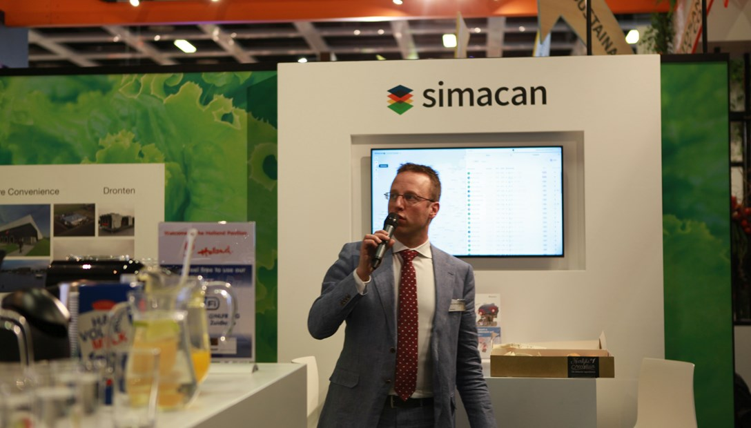 Fruit Logistica 2017 lunchlezing Rob Schuurbiers Simacan