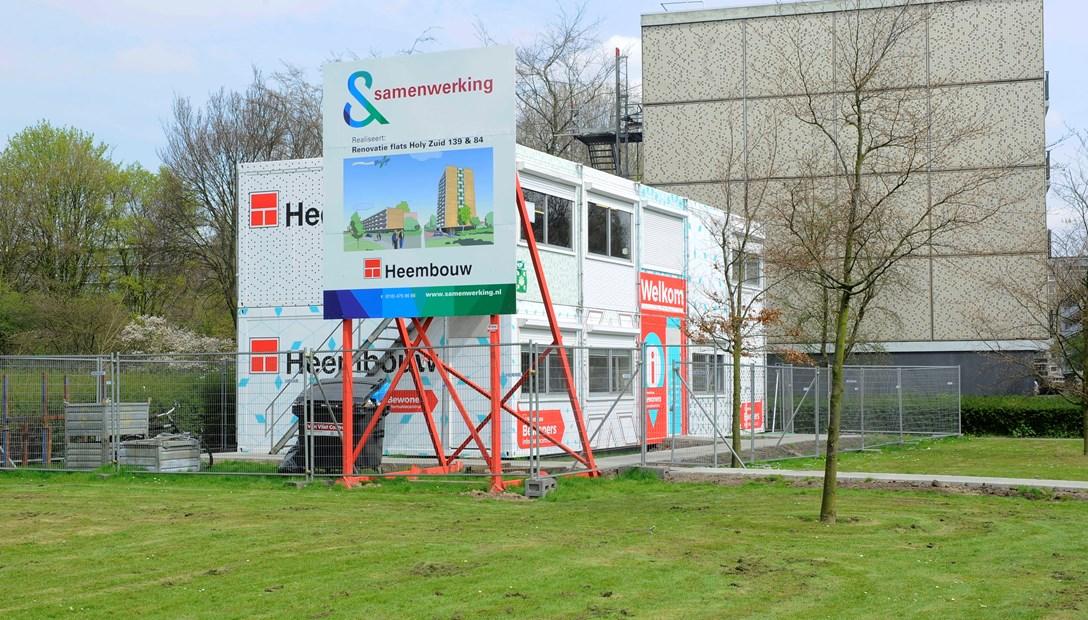 Slimmer verduurzamen Holy Zuid Vlaardingen met bewonersinformatiecentrum