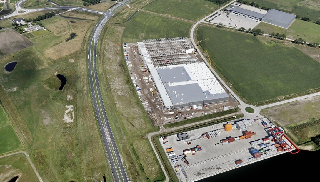 Distributiecentrum Vossenberg West 2 in uitvoering Tilburg